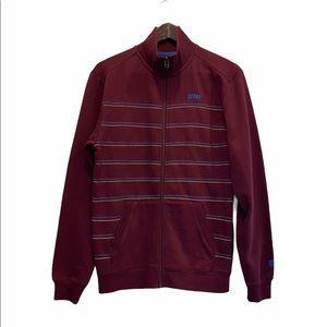 ORAGE Men's Zipper Sweater Jacket Size Small GUC